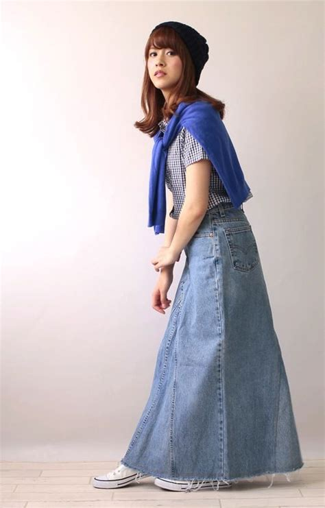 Carolline Longsleeve Maxi Denim Diskon 1000 images about and denim any time any place any where on boyfriend
