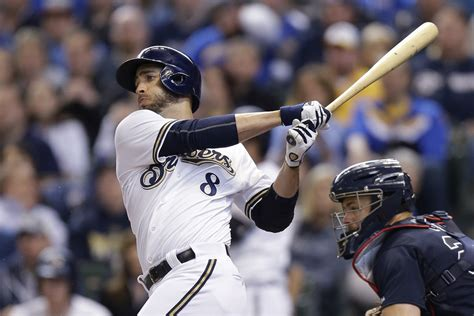ryan braun swing atlanta braves v milwaukee brewers zimbio