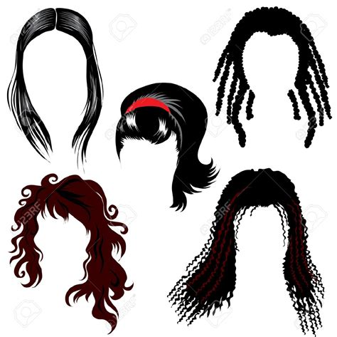 Real Hair Free by A Real Dreadlocks Clipart Clipground