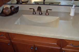 bathroom countertop sink concrete bath sinks modern vanity tops and side