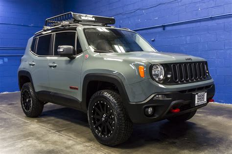 jeep renegade trailhawk lifted used lifted 2016 jeep renegade trailhawk 4x4 suv for sale