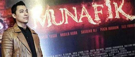 tonton filem munafik syamsul yusof menangis di majlis tayangan filem munafik
