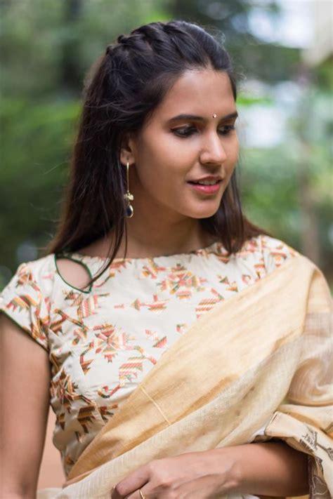 boat neck for saree blouse designer boat neck blouse designs for sarees