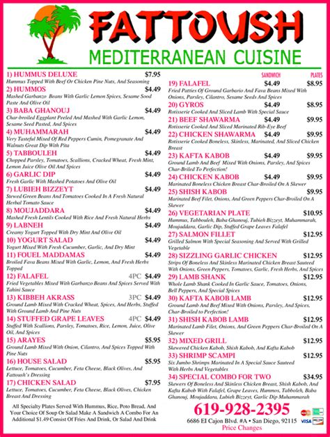 mediterranean menu dinner yellowbook the local yellow pages directory