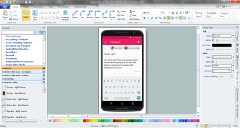 layout used in android design android ui design tool