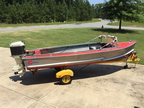 crestliner aluminum boats crestliner voyager 1957 for sale for 4 000 boats from