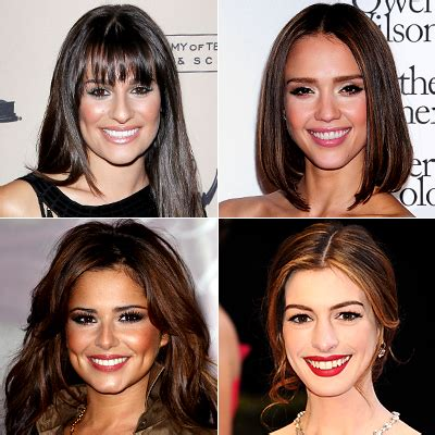 try on different hair colors lea michele different hair colors hairstyle gallery
