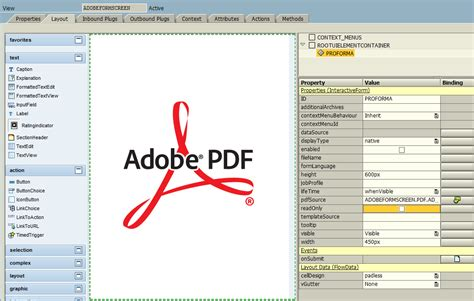 html design codes pdf display adobe form in sap web dynpro