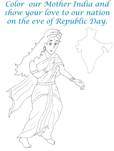india coloring pages pdf mother india coloring page for kids