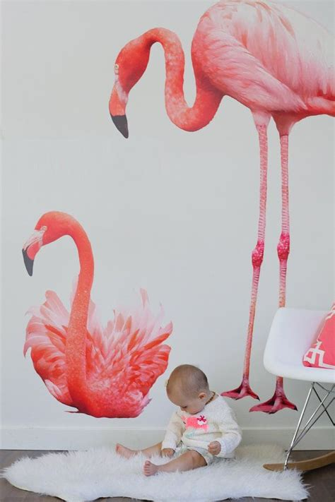 flamingo wall stickers vinyl wall sticker decal flamingos