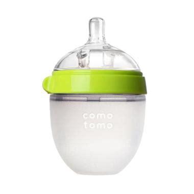 Comotomo Single 150ml Green Pink Botol Silikon jual botol dot bayi comotomo harga promo