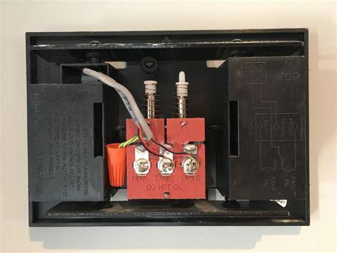 wiring nest  doorbell   wires