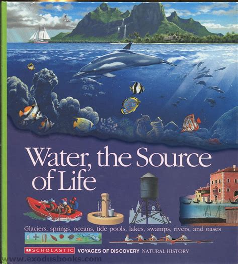 Waters For The Booker by Water The Source Of Exodus Books