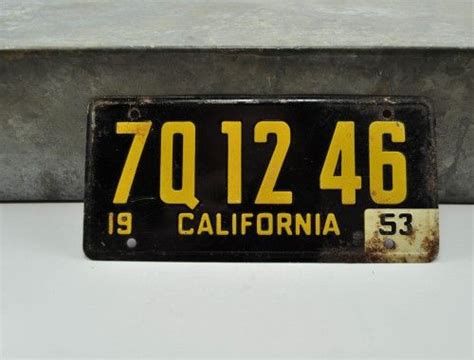 49 best images about vintage license plates on