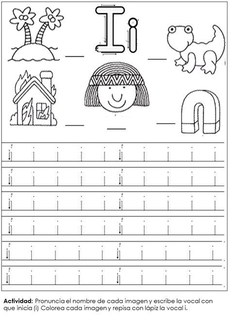 education preescolar resultado de imagen para vocal i hojas de trabajo para