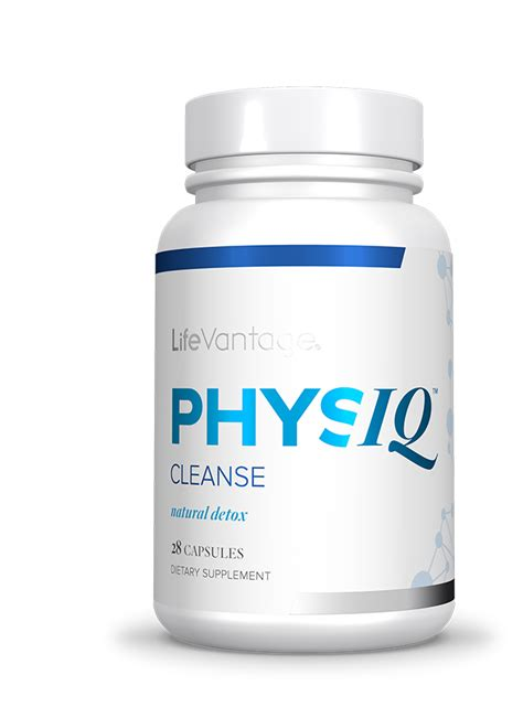 Protandim Detox by Physiq Cleanse Lifevantage Us