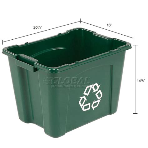 green rubbermaid storage containers garbage can recycling recycling rubbermaid recycling