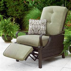 Patio Set With Reclining Chairs Design Ideas La Z Boy Outdoor Dpey Rc Peyton Recliner Limited Availability Sears Outlet
