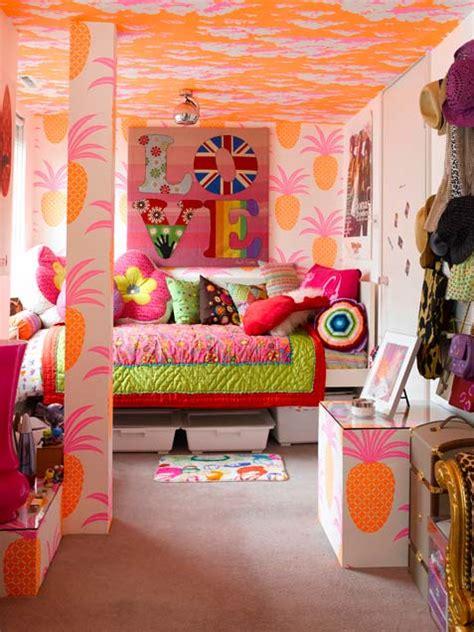 cool girls bedroom interior