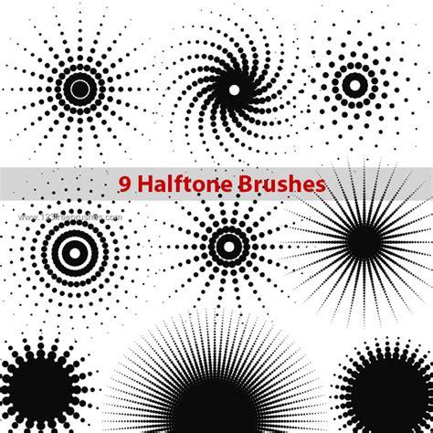 pattern brush free download halftone dots photoshop brushes photoshop free brushes