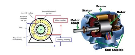 electrical projects on induction motor talking about the construction of single phase induction motor news on motors biz