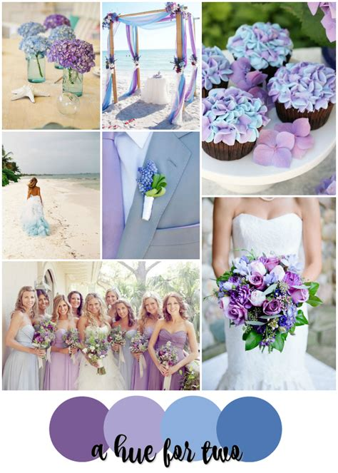 lavender color scheme lavender purple and light blue wedding colour scheme