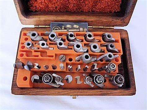 piece  router bit set sears craftsman wood working