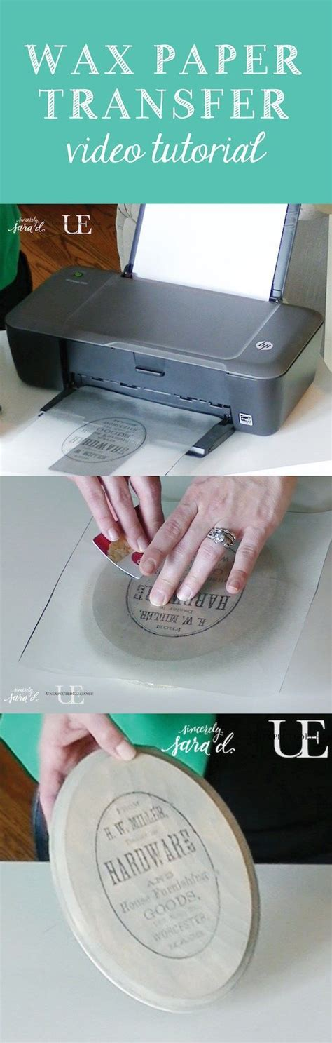 Craft Transfer Paper - 17 best ideas about wax paper crafts on