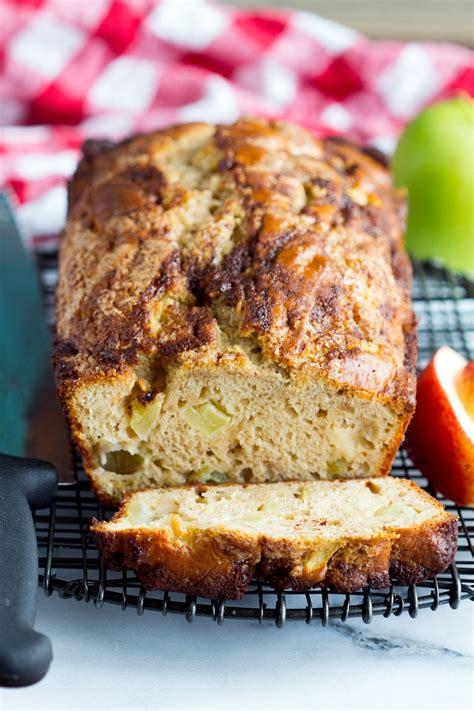 apple quick bread homemade apple cinnamon quick bread gather for bread