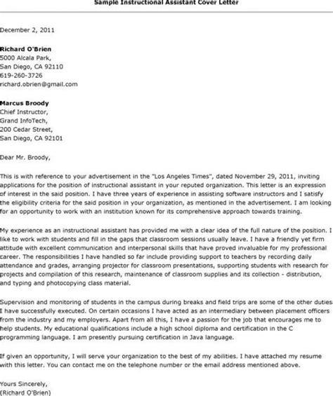 teachers aide cover letter – 50+ Best templates