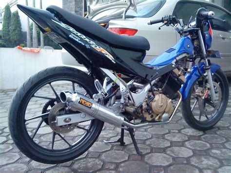 Knalpot Rx Kingrx Srx K Standar Racing Cat Hitam modif satria fu 150 my simple journey