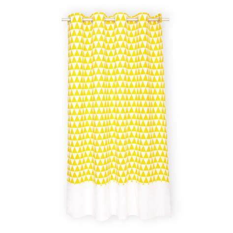gardinen gelb kraftkids gardinen gelbe dreiecke und wei 223