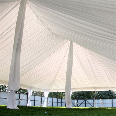 tent drapes center pole drapes for wedding tents 18 ft