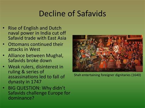 What Led To The Decline Of The Ottoman Empire Ppt Central And Southern Asian Empires The Safavids Mughals Powerpoint Presentation Id