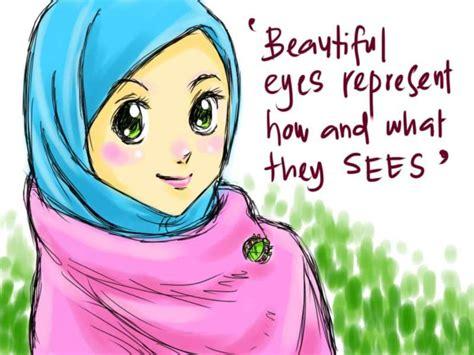 wallpaper kartun muslimah 22 gambar kartun wanita muslimah anak cemerlang