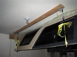 Truck Canopy Hoist by Truck Canopy Lift Pictures To Pin On Pinterest Pinsdaddy