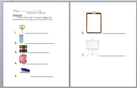 Unifix Cubes Worksheets by Pin By On Elementary