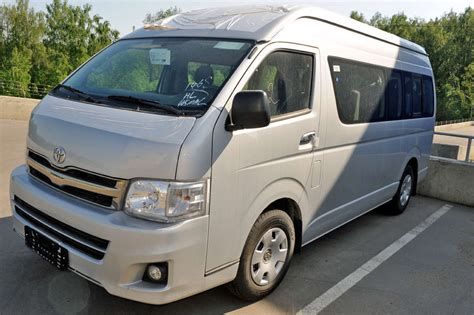 Toyota Hiace For Sale 2012 Toyota Hiace For Sale Gasoline Fr Or Rr Manual For