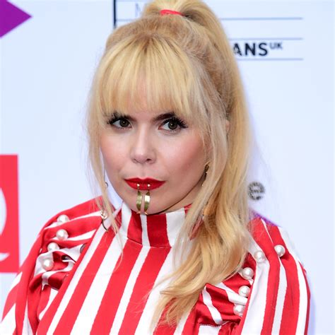 Red Room by Paloma Faith Stuns With Lip Rings On Q Awards Red Carpet