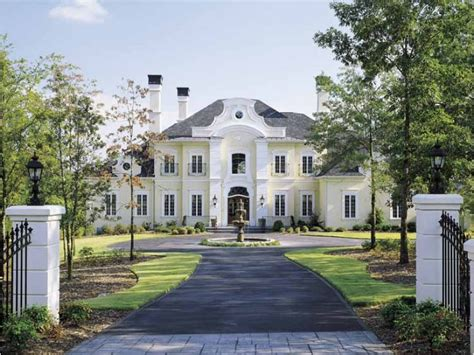 french chateau style homes eplans chateau house plan old world grace 5235 square