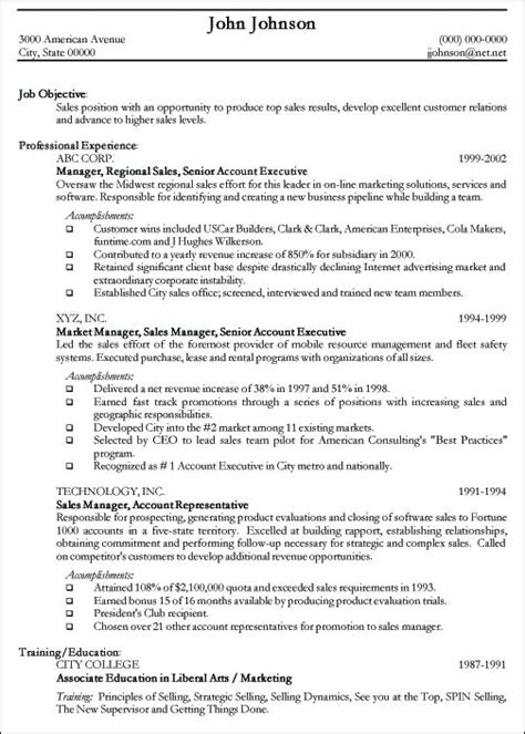 cv templates for it professionals exles of professional resumes writing resume sle