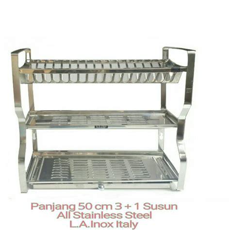 Rak Piring Stainless Steel jual rak piring stainless steel l a inox italy toko