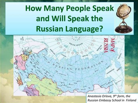 ppt how many speak and will speak the russian