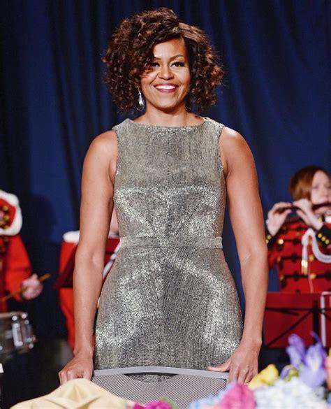 michelle obama zac posen dress michelle obama dazzles in custom zac posen at the 2015