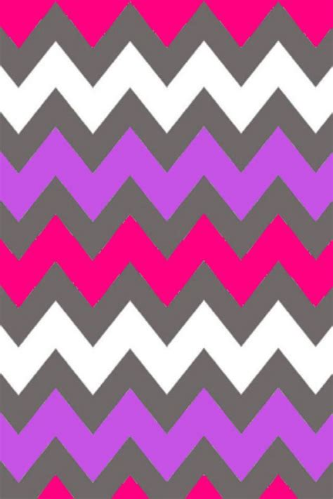 hot pink pattern wallpaper whit purple and hot pink chevron iphone backgrounds