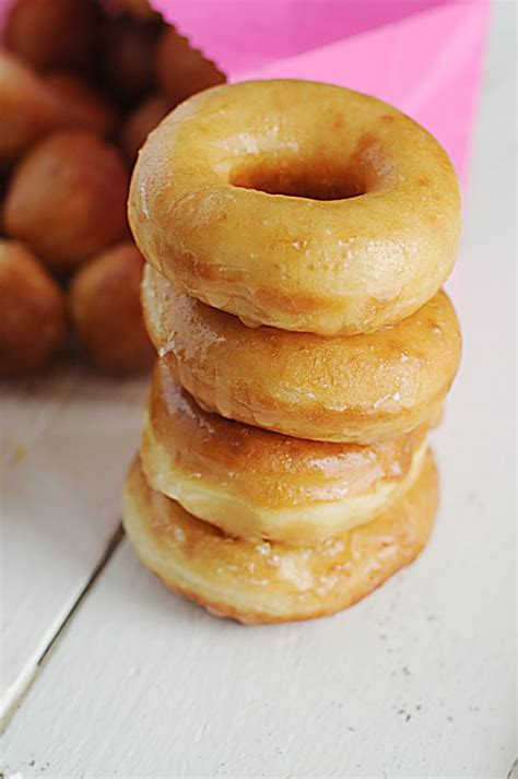 Handmade Donuts - yeast doughnuts recipe from dine and dish
