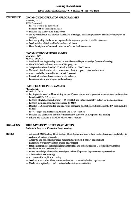 machinist sle resume resume sles programmer cnc machinist resume sles 28