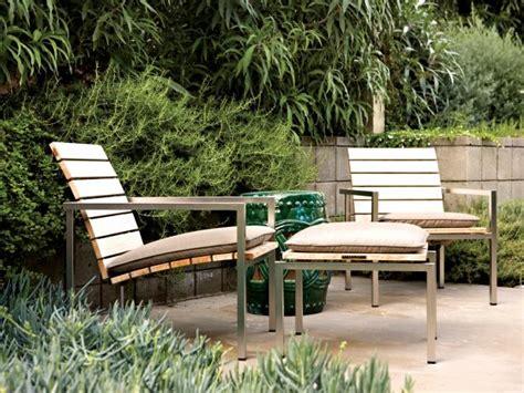 minimalist outdoor furniture photo page hgtv