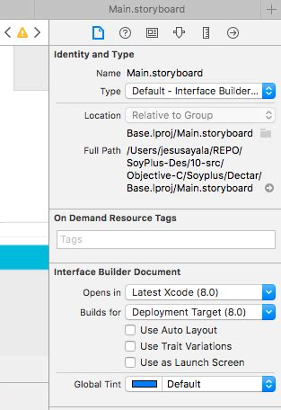 xcode 6 storyboard autolayout ios how to enable autolayout in storyboard xcode 8