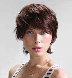 Galerry coiffure courte avec meche
